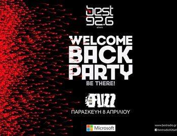 """Come back party του Best 92.6"" Στη «μάχη» των events μπήκε κι επίσημα ο Best 92.6, εν όψει του φετινού συναυλιακού καλοκαιριού. Έχοντας δε την καλύτερη αφορμή, την επαναλειτουργία του στα FM. O BEST 92,6 ολοκληρώνει την δυναμική του επιστροφή στα ερτζιανά, με ένα μεγάλο comeback party την Παρασκευή 8 Απριλίου στο FUZZ, στις 9.00 μ.μ. http://www.mancode.gr/articles/2016/4/7/come-back-party-tou-best-926/"