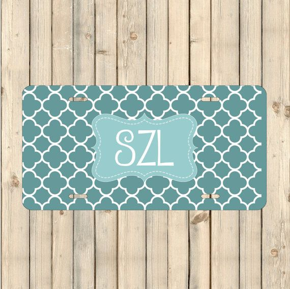 Get your custom license plates at The Inspired Studio!  #LicensePlate #CustomPlate #PersonalizedLicense #CarDecor #PersonalizedGift #CustomLicensePlate #PersonalizedPlate #MonogramCarTag #personalized #MonogramPlate