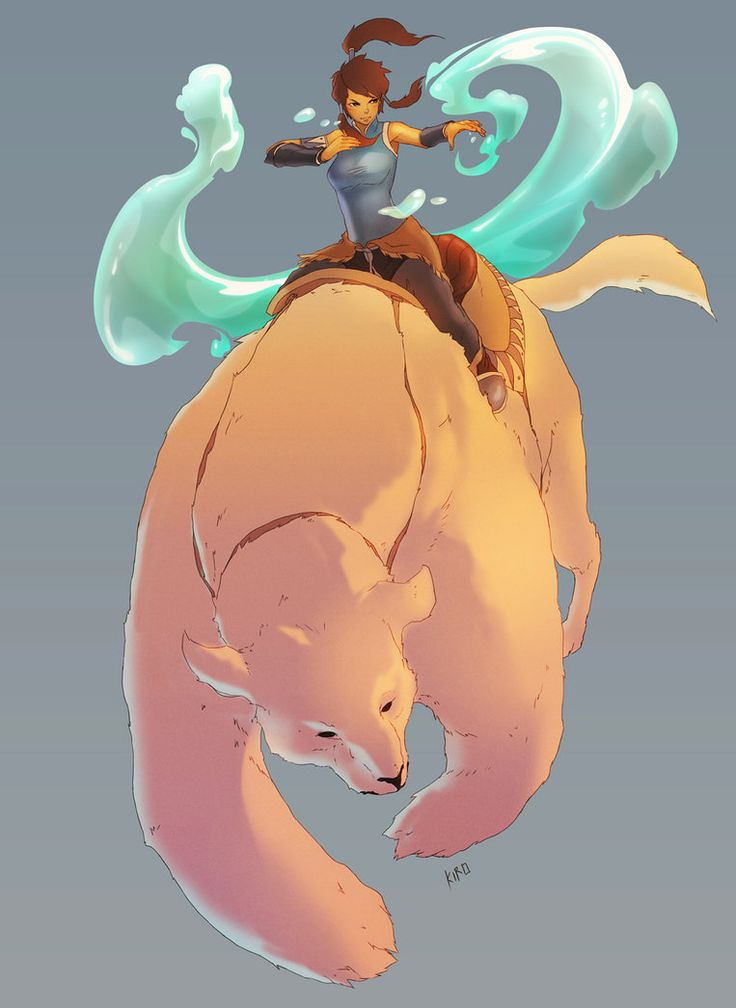 Kora from the television series, (This is supposed to be italisized -->) The Legend of Kora.
