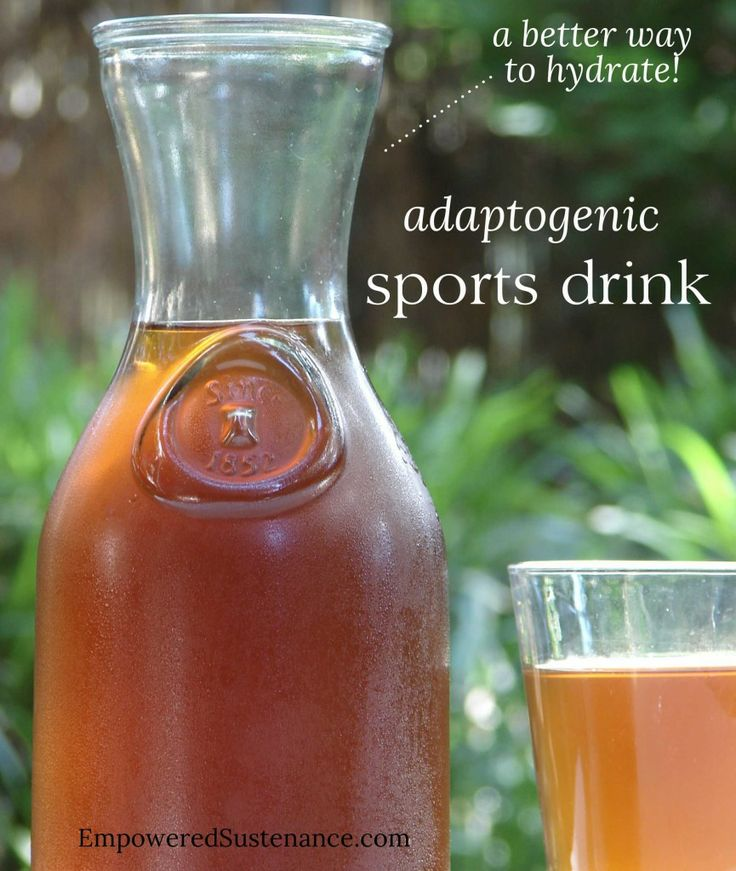 Adaptogenic Sports Drink: A better way to hydrate! - Empowered Sustenance (tulsi, raw honey, sea salt, trace mineral drops)