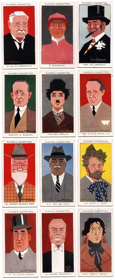 cigarette cards: Cigarette Packscard, Character Vintage Artworks, Cigarette Ads, Cards Alick, Art Ilustr, Alick P F, Cigarette Cards, Vintage Character Art, Vintage Cigarette