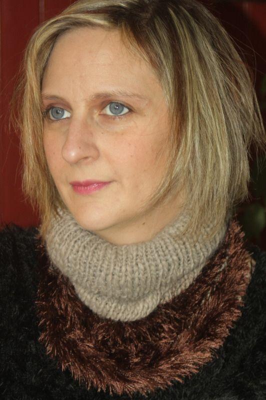 Tour de cou marron laine : Echarpe, foulard, cravate par magalie-tissot-creations