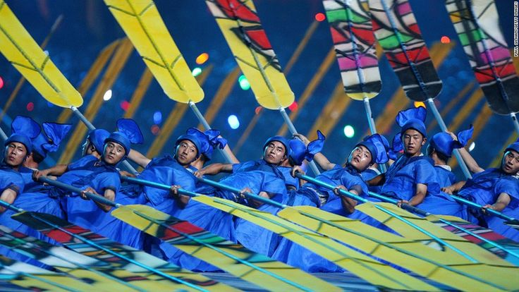 10 things China does better than anywhere else The display of totalitarian jazz hands at the 2008 Summer Olympics Opening Ceremony in Beijing showcased Chinese art forms from ink painting and opera to acrobatics and tai chi.