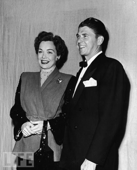Who Was Ronald Reagans First Wife