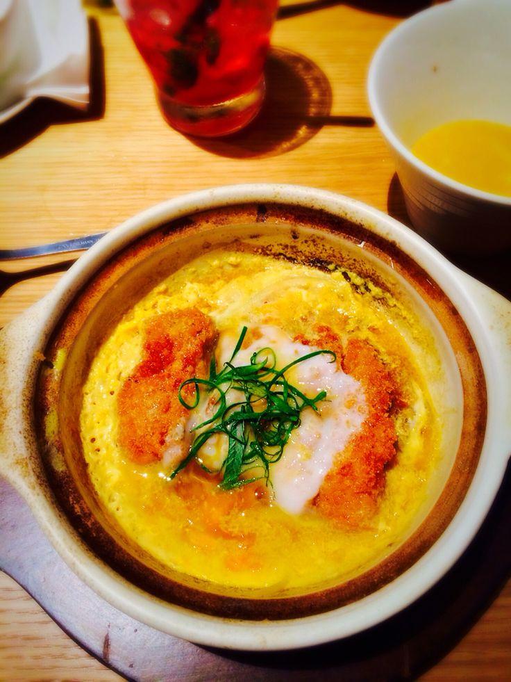 Chicken katsudon at Ippudo
