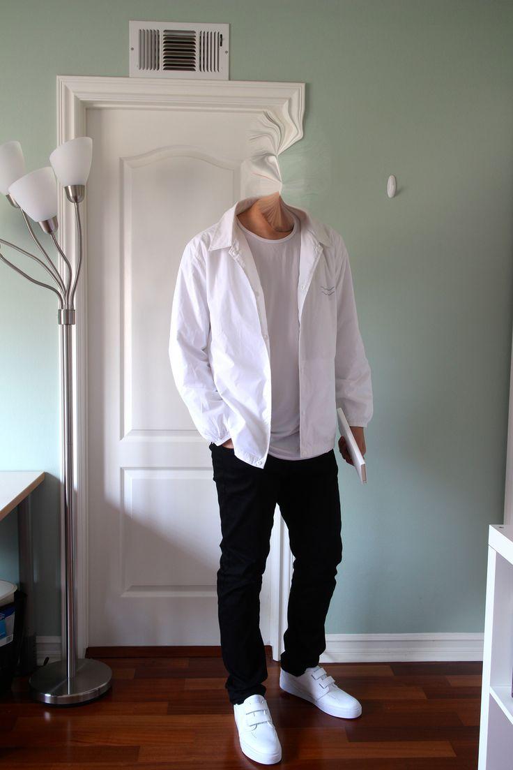 ambyance is wearing Nike Janoski Velcros, Uniqlo Leggings, Moleskin, I Love Ugly, Uniqlo Airism.