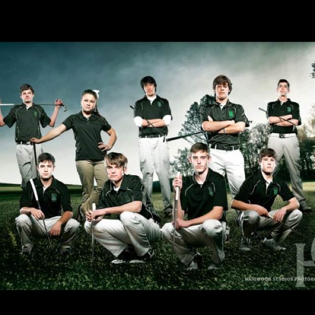 Intimidating golf picture  Haigwood Studios photography!