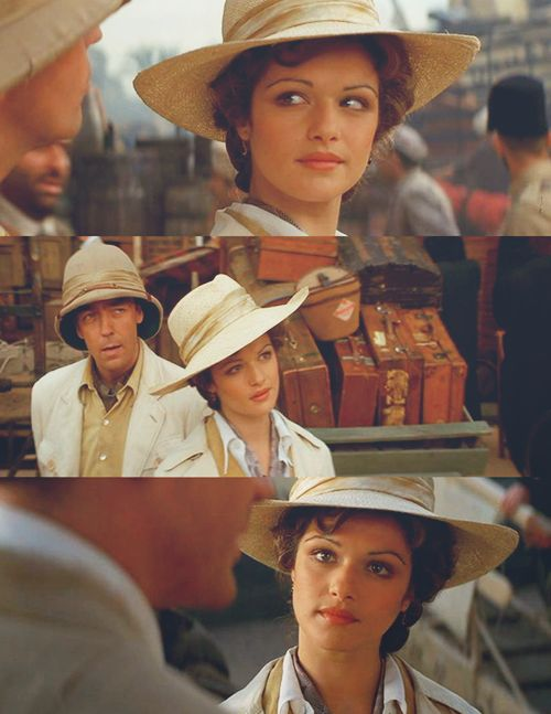 The Mummy. So much love for this movie but not for any of the pieces with the mummy in it. It'd be so much better had it been something like treasure seekers. In any event, Rachel was absolutely delicious!