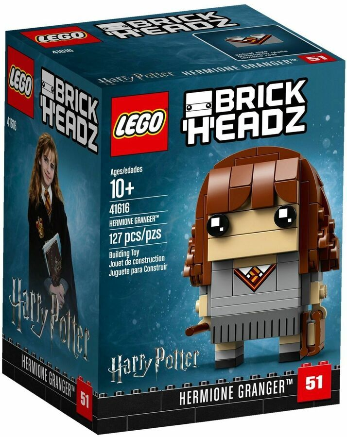 Lego Brickheadz Figuren Sammlung Aus 63 Verschiedenen Auswahlen Neu Ungeoffnet Harry Potter Hermione Granger Lego Harry Potter Hermione Granger