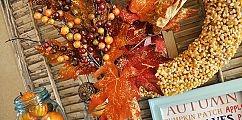 Popcorn Kernel Wreath :: Hometalk