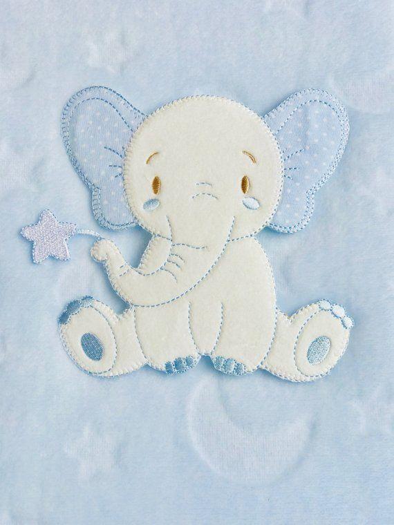 Kuscheldecke Mit Namen Babydecke Decke Taufe Elefant Geschenkideen