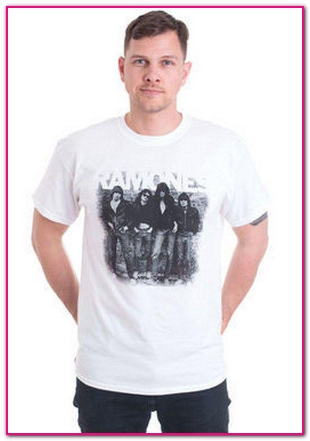 newest 677b8 70326 Ramones T Shirt Damen H&m-Der typisch runde Ausschnitt der T ...