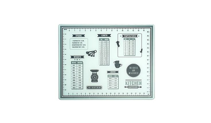 George Home Weights and Measures Glass Chopping Board £5