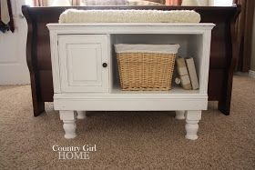 COUNTRY GIRL HOME : Small table/bench legs add on.