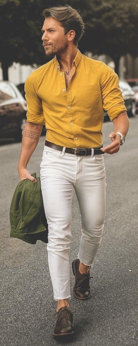 13 Fresh Ways To Style Dress Shirts In 2019 – #Dre…