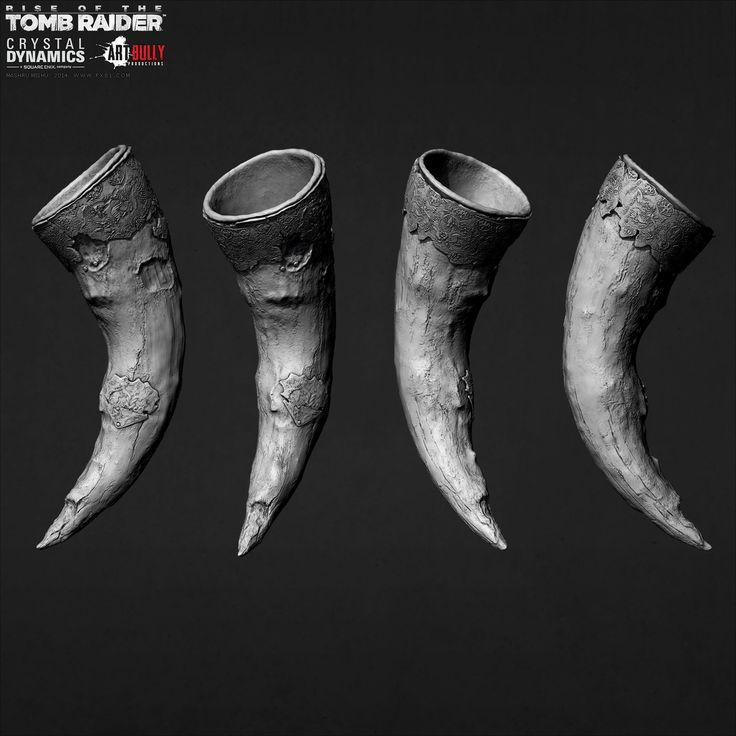 Rise of the Tomb Raider - Props, Mashru Mishu on ArtStation at https://www.artstation.com/artwork/m3W5E