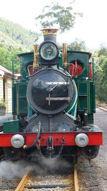 Abt Railway, Tasmania.