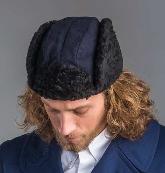 1950's Authentic MILITARY STYLE VINTAGE Swedish Navy Blue