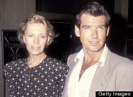 Pierce Brosnan says he thinks about his first wife Cassandra Harris all the time.