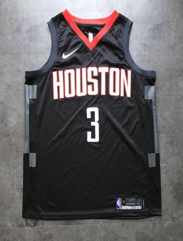 newest da037 c7757 Men 13 Chris Paul Jersey Black Houston Rockets Jersey ...