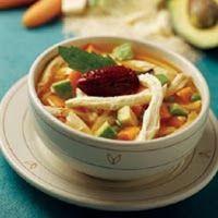 Recetas de Comida Gratis: Caldo Tlalpeño