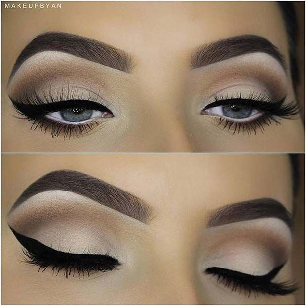 41 Stunning Fall Makeup Looks To Copy Asap Brown Smokey Eye