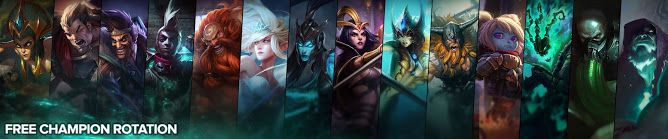 awesome Free Champion Rotation, Week of August 15th