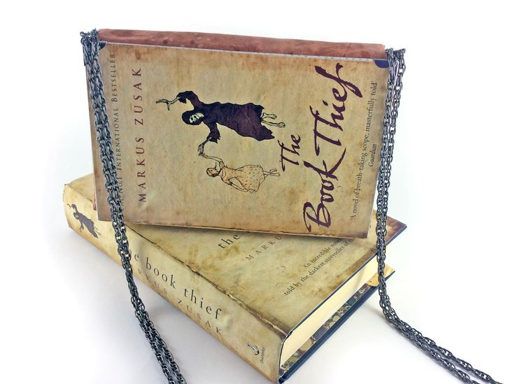 """The Book Thief Clutch Bag, Markus Zusak, The Book Thief gift, Book Thief bag, Book Thief clutch, Book Clutch, """"I am haunted by humans"""" by BagsyMeFirst on Etsy https://www.etsy.com/listing/268012670/the-book-thief-clutch-bag-markus-zusak"""