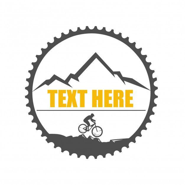 Downhill Logo Illustration Desain Logo