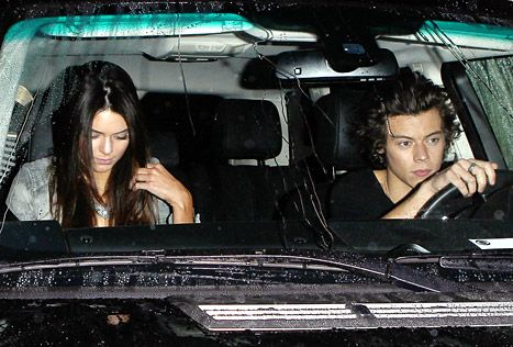 Kendall Jenner and Harry Styles were photographer together on a dinner date in West Hollywood on Nov. 20.