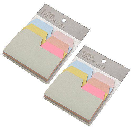 EzSos Tabbed Index Card, Cute Kraft Paper Sticky Notes fo... https://www.amazon.com/dp/B01MYRQNFR/ref=cm_sw_r_pi_dp_x_dNAYybJBJF91M