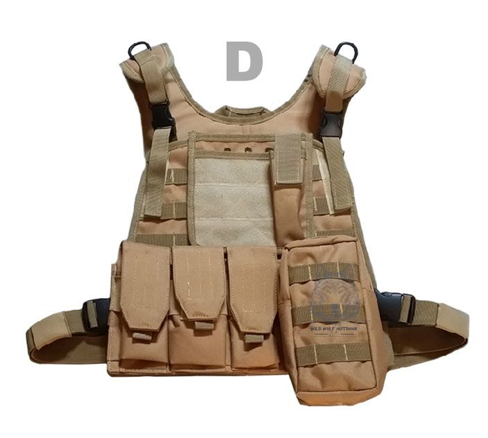 37.99$  Watch here - http://aliw8k.shopchina.info/go.php?t=32380142191 - Tactical Military Molle Combat Vest Hunting Camouflage Clothes Outdoor Cs Uniform Steel Wire Vest 13-0002  #buychinaproducts