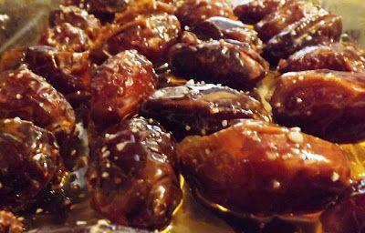 Dulcia Domestica: Ancient Roman Stuffed Dates with honey and almonds