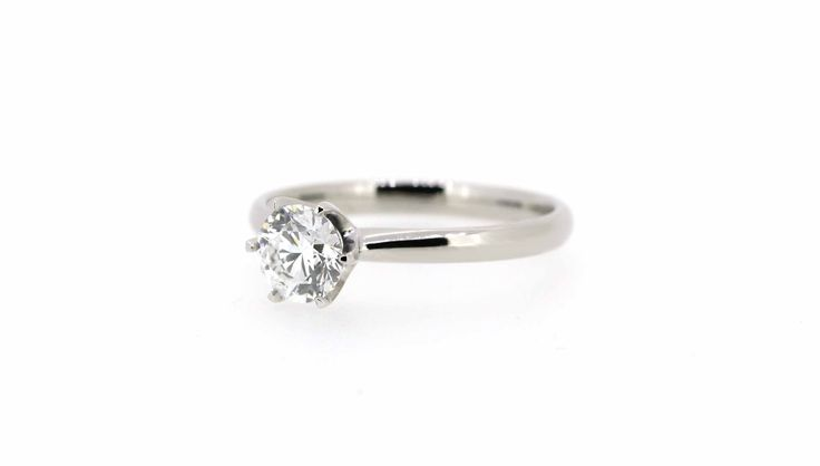 Stunning solitaire engagement ring, made in store by Clayfield Jewellery in Nundah Village - North Brisbane.