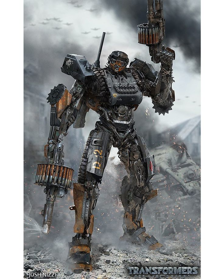 Josh Nizzi Transformers: The Last Knight WWII Hot Rod Concept Art - Transformers News - TFW2005