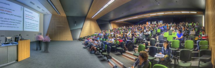 Pharmacy Australia Centre of Excellence  Panorama of Lecture Theatre in the new Pharmacy Australia Centre of Excellence  Copyright 2013 The University of Queensland, all rights reserved