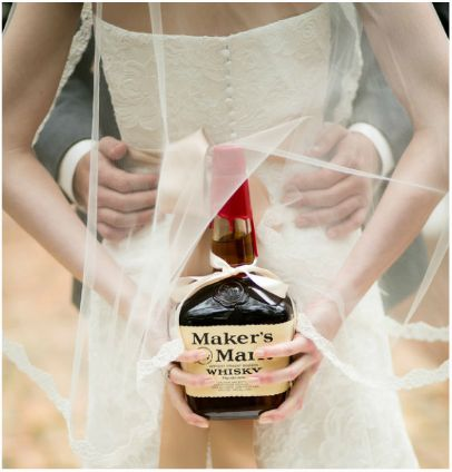 Surprise Wedding Gift For Groom : Makers Mark wedding surprise gift for the groom by Amy Little ...