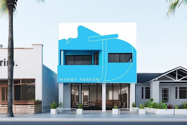 Warby Parker's first west coast store