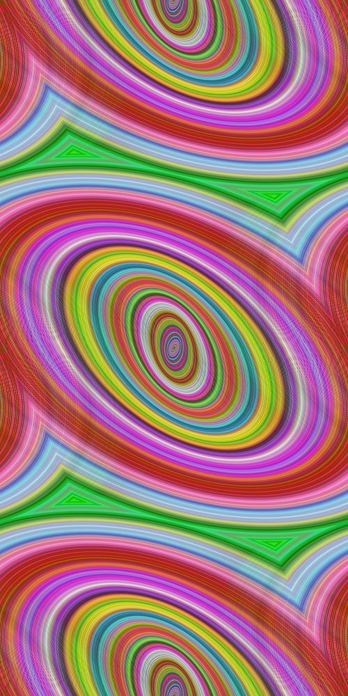 Colorful seamless ellipse pattern background