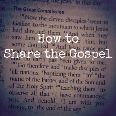 Bible verses that help you talk about your faith and share the gospel.