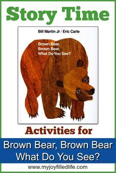 25 best Brown Bear Activities