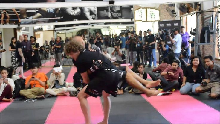 ONE FC Media Workout with Ben Askren at Jakarta Muay Thai Camp