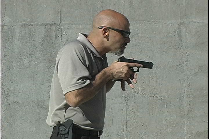 What's the best handgun ready position? Learn why Rob Pincus chooses high compressed ready.