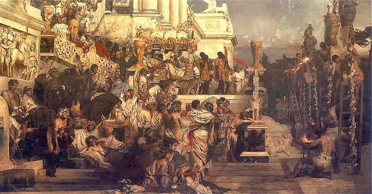 Henryk Siemiradzki – Pochodnie Nerona