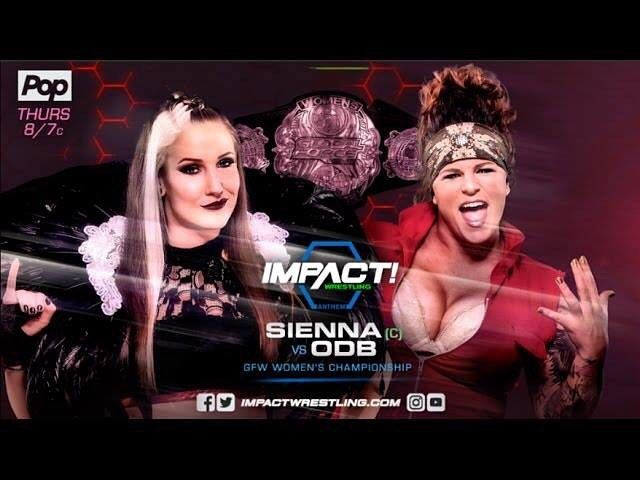 For the #GFWWomensChampionship @sienna vs. @theodbbam from last week on @impactwrestling  https://youtu.be/Byvxl8qIlhk  #prowrestling #pro #wrestling #wrestlemania #wrestler #mma #fight #mixedmartialarts #fighting #fighter #youtube #youtubers #youtuber #channel #ImpactWrestling #IMPACTonPOP #MakeImpactGreat #GFW @gfwwrestling #WomensTitle #WomensChampionship #sienna #odb