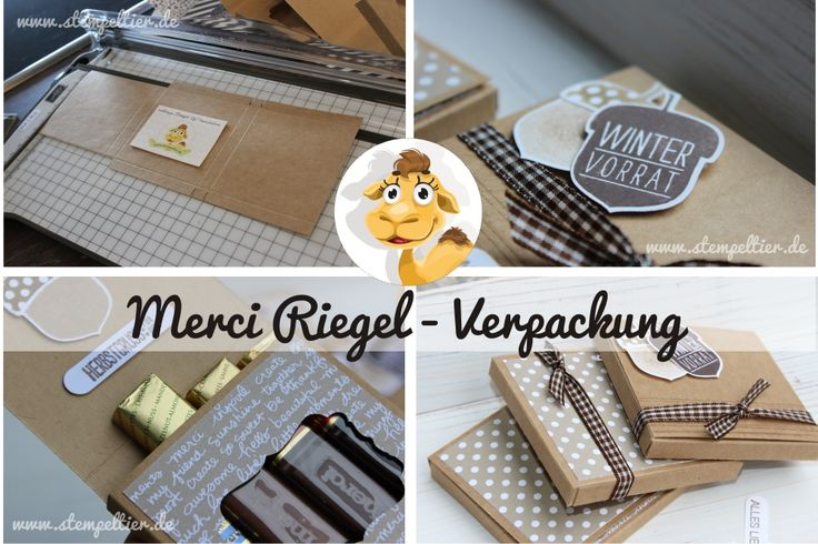 merci verpackung stampin up Herbst Eichel Anleitung How to Stempeltier acorny thanks herbstgrüße