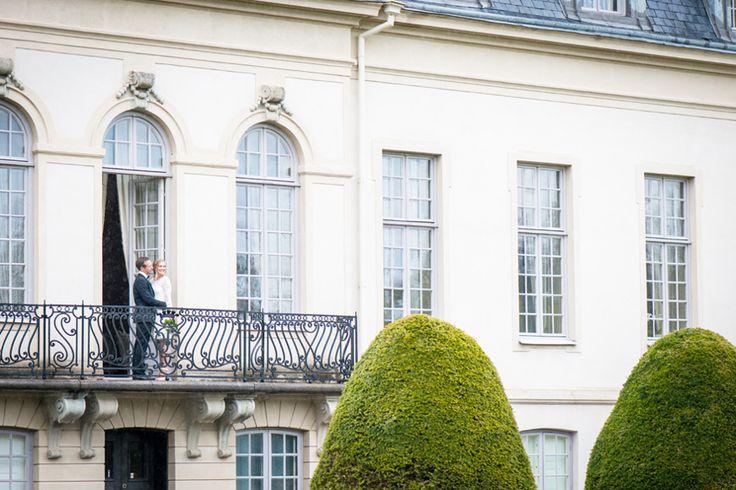 Slottsbröllop på Österlen, Skåne. Fotograf Rebecca Wallin