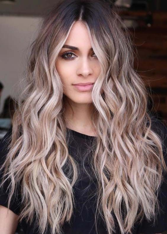 30 Trending Brunette Balayage And Ombre Hair Colors For
