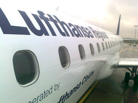 #Lufthansa #Airport #Gdansk; photo: Aleksandra Rychlik