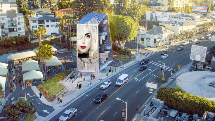 A three dimensional digital billboard of the future